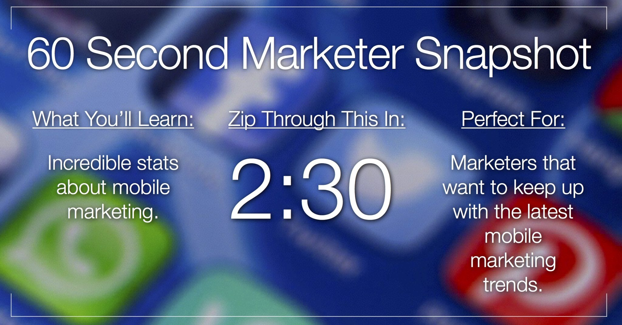 10 Incredible Mobile Marketing Facts