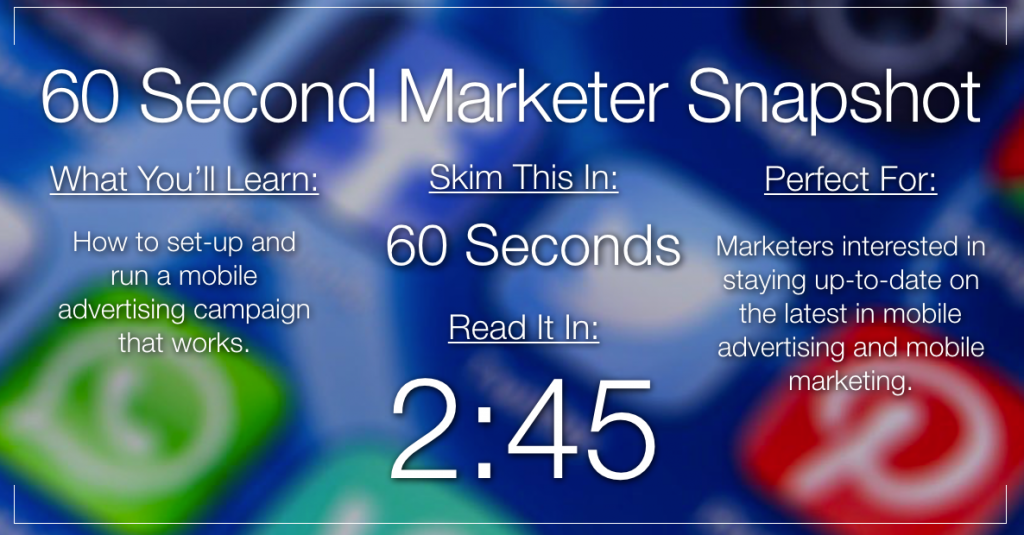 5 Most Common Mobile Advertising Mistakes to Avoid