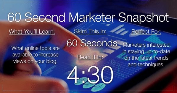8 Crucial Online Tools for Serious Blog Marketers
