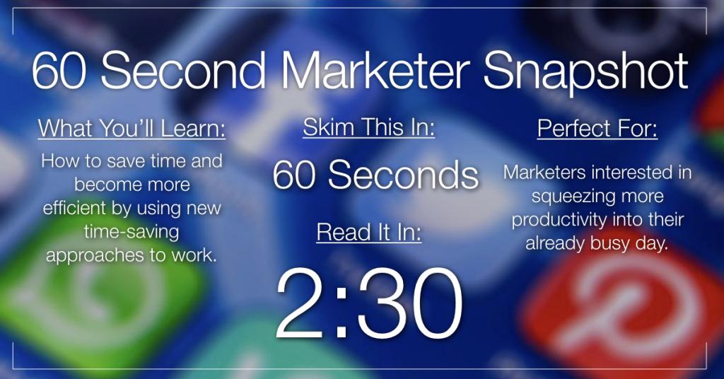 7 Time-Saving Hacks to Streamline Marketing Efforts