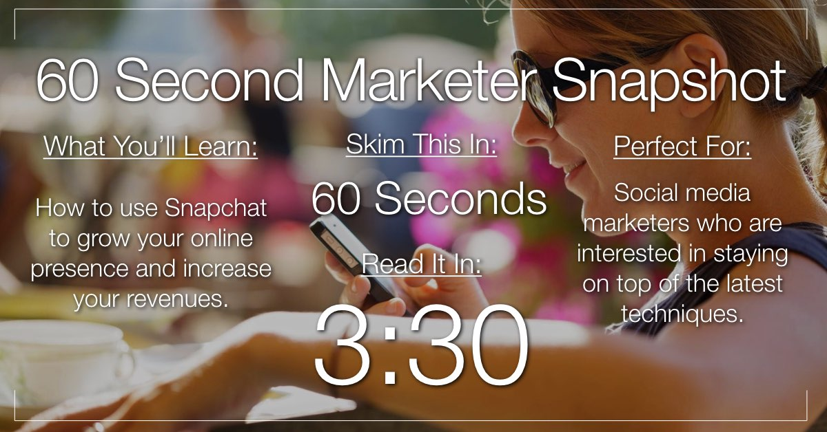Creative Snapchat Marketing: How to Set and Achieve Your Goals