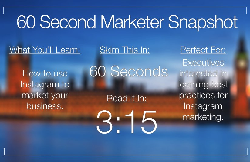 Best Practices for Instagram Marketing – Infographic