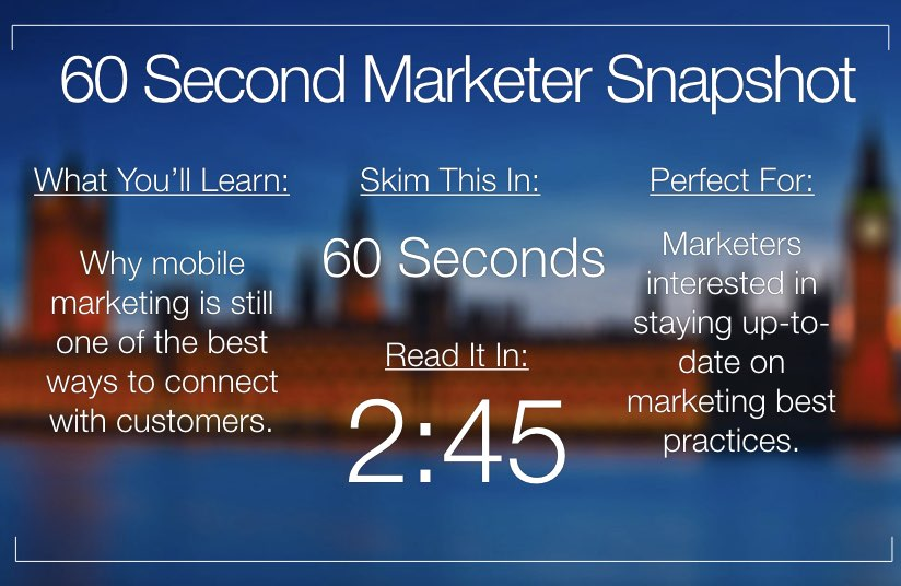 Here's How to Make Your Smartphone a Killer Marketing Machine