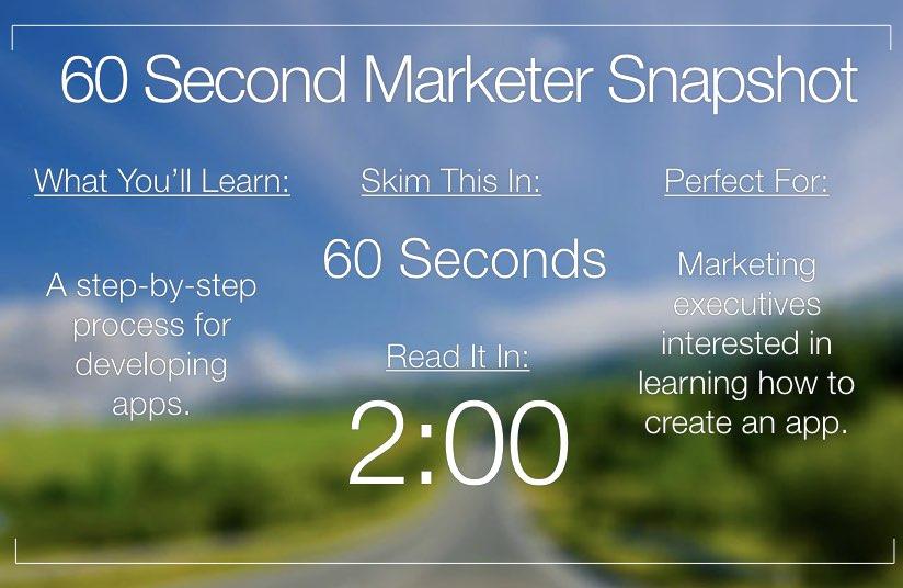How to Create an App
