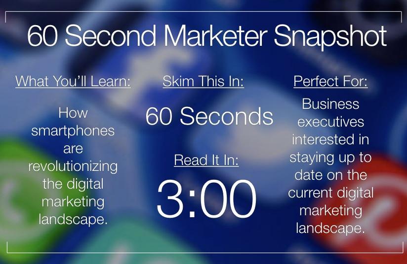 5 Ways Smartphones Are Changing Digital Marketing