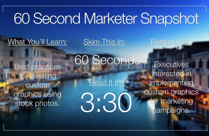 Creating Custom Graphics from Stock Photos