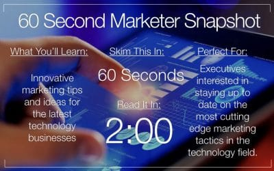 Marketing Tips For The Latest Technology Firms And Blogs