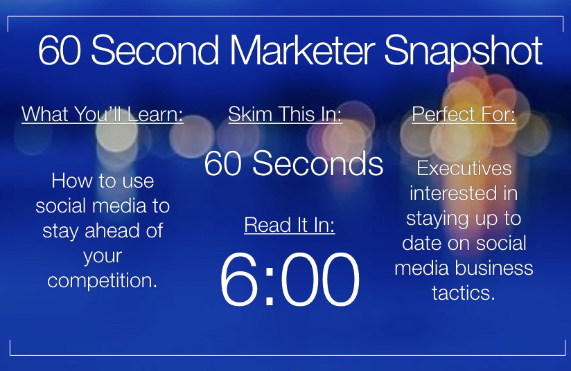 3 Easy Ways Marketers Can Use Social Media to Spy on Their Competition