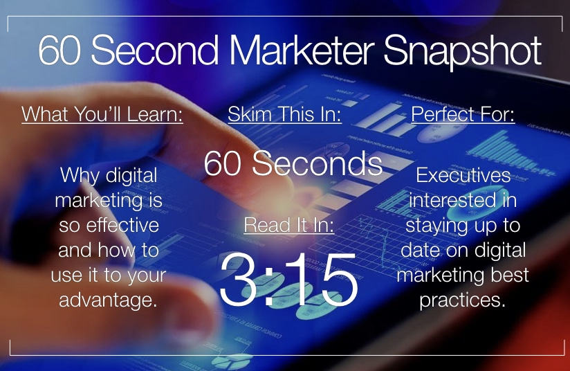 5 Reasons Why Online Marketing Is So Effective