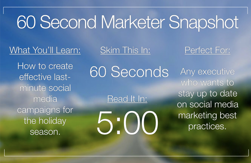 8 Last-Minute Holiday Campaigns for Facebook & Instagram