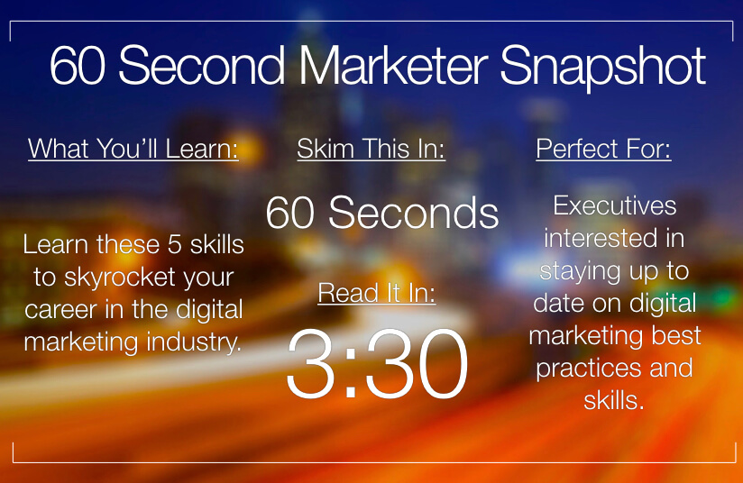 5 Essential Skills You Need to Become a Digital Marketing Superstar