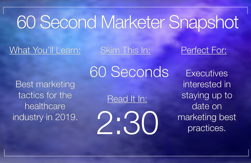 Marketing Tips for The Healthcare Industry