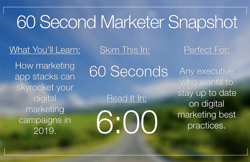 Why Marketers Everywhere are Talking About Marketing App Stacks