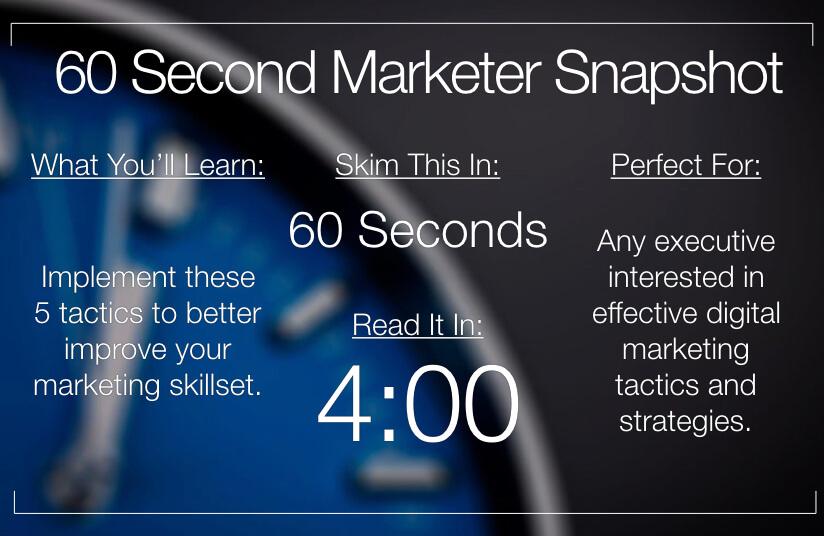 5 Ways to Improve Your Marketing Skill
