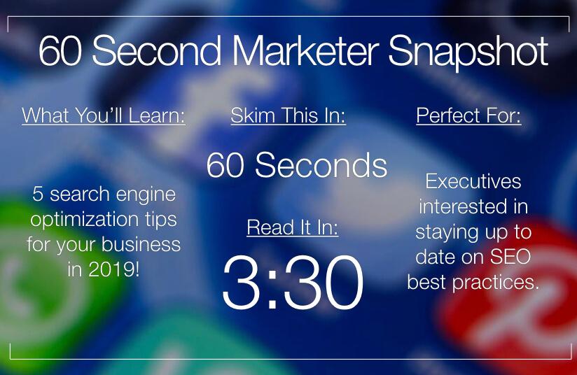 SEO Marketing Tips 101