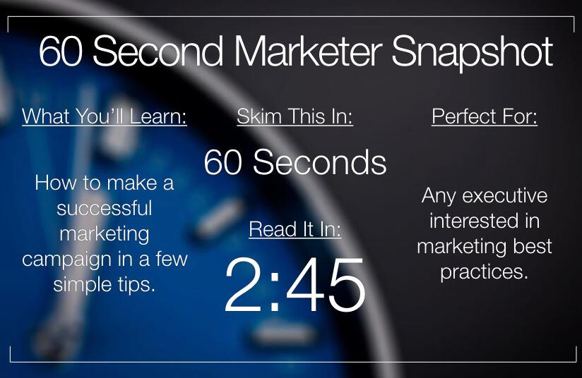 What Factors Make a Marketing Campaign Successful?