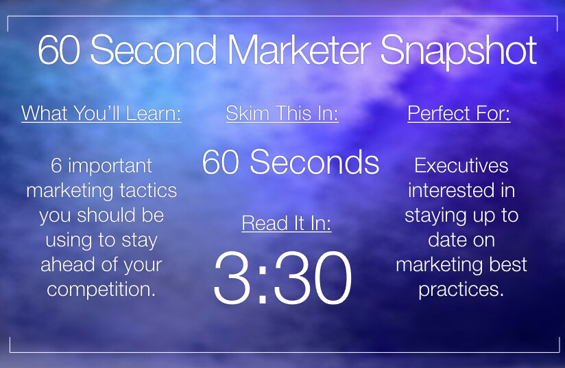 What Marketing Tactics Your Competitors Have that You Need