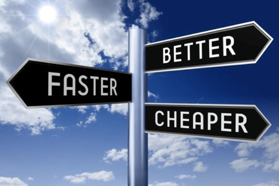 Why Faster, Better, Cheaper May be Your Best Strategy in 2021